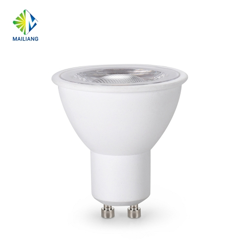 UL Approved 5.5W Dimmable & Non-flicker LED Gu10 Bulb