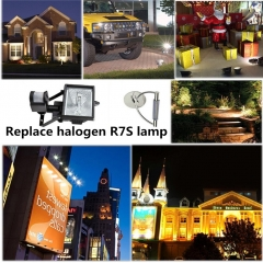 New ! LED R7s 8W 800lm Non-dimmable